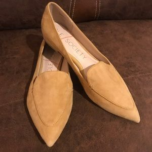 Sole Society Cammila Pointy Toe Loafer